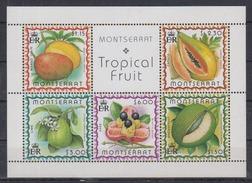 Montserrat 1999 / Tropical Fruits MNH Frutas Früchte / Cu1837  31 - Frutas