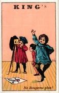 15 Cards Pub King's  C1900 Children Playing Drumming Dolls Camera Palette Chromo Litho - Chromos