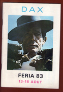 1 Programme Feria Dax 1983 - Programas