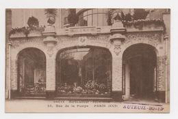 75 PARIS - 16ème, Rue De La Pompe, OREVE Horticulteur-décorateur - Arrondissement: 16