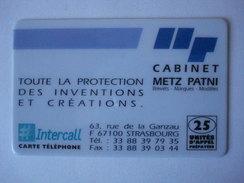 "INTERCALL  PR135  "" Utilisée ""  CABINET METZ PATNI - France"