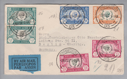 Südafrika 1953-03-09 Luftpostbrief Nach Berlin - Afrique Du Sud (1961-...)