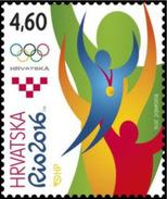 Croatia 2016 Olympic Games, Rio De Janeiro, Brasil, Sport, MNH - Summer 2016: Rio De Janeiro