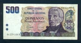 Argentina 500 Pesos1984 FDS - Argentina
