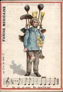 METIERS - CHROMO Farine Mexicaine - Marchand De Balais - Chromos