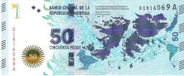Argentina - Pick 362 - 50 Pesos 2015 - Unc - Commemorative - Argentina