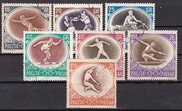 POLOGNE  - N° Y&T - Série 871/7 - Les 7 Valeurs - J.O. De Melbourne   - Oblit - 1944-.... République