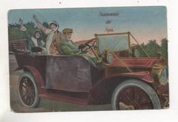 34840  -     Souvenir De Spa Carte Système  -  Ancienne Voiture - Spa