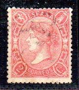 Sello Nº 74  España - 1850-68 Regno: Isabella II