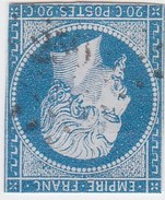 N° 14 A     PC   259    BARJAC   /   GARD     LOT 12218 INDICE 7  COTE 30 € + VARIETE - 1853-1860 Napoléon III
