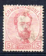 Sello Nº 118  España - 1872-73 Reino: Amadeo I