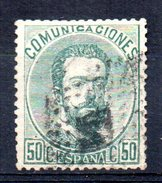 Sello Nº 126  España - 1872-73 Reino: Amadeo I