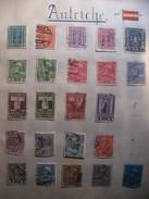 Lot De Timbres Anciens D'Autriche - Collections
