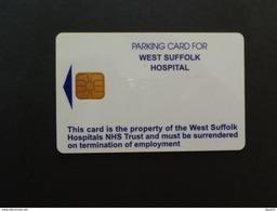 DERNIERE CARTE À PUCE DE PARKING - WEST SUFFOLK HOSPITAL - Vereinigte Staaten