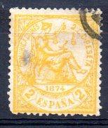 Sello Nº 143  España - 1873-74 Regencia
