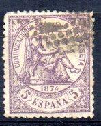 Sello Nº 144  España - 1873-74 Regencia