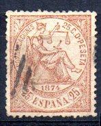 Sello Nº 147  España - 1873-74 Regencia