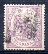 Sello Nº 148  España - 1873-74 Regencia