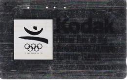 TARJETA DE JAPON DE KODAK DE LAS OLIMPIADAS DE BARCELONA 92 (110-011) OLYMPIC GAMES - Japón