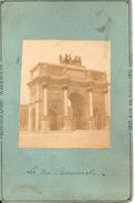 PARIS....PHOTO ORIGINALE D'EPOQUE...CIRCA 1880....ARC DU CARROUSEL...WAREHOUSSE - Photos