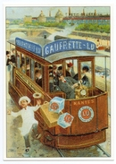 CPM - CENTENAIRE Editions - RECLAME  - 101 - BISCUITS LEFEVRE-UTILE - Tram