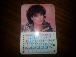 Portuguese Pocket Calendar  - Stephanie  -1987 - Calendriers
