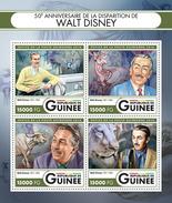 GUINEA 2016 - Walt Disney. Official Issue - Disney