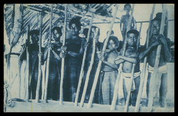 TIMOR - COSTUMES - Tipos E Costumes. ( Ed. Da Missão)  Carte Postale - Timor Orientale