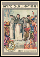 TIMOR - Religiosos Dominicanos Convertendo Os Naturais - 1511.    Carte Postale - Timor Orientale
