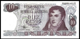 Argentina 10 PESOS Ley 18.188 ND 1970-73 P 289 UNC  ( Argentijnse ) - Argentine