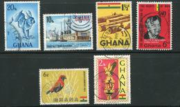 Ghana Lot De Timbres Oblitérés - Ghana (1957-...)