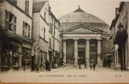 CPA-94 - COURBEVOIE - RUE DE L'EGLISE - Courbevoie