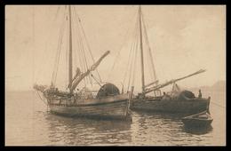 TIMOR - Corcoras - Embarcações Costeiras. ( Ed. Da Missão)  Carte Postale - Timor Oriental