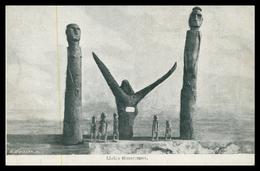TIMOR - Idolos Timorenses.  Carte Postale - Timor Oriental