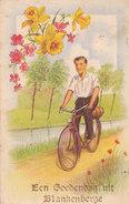 Blankenberghe - Een Goedendag Uit (vélo Fiets, Fleurs Bloemen, Taxe 1952) - Blankenberge