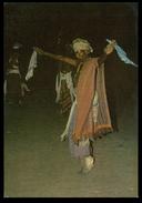 TIMOR - COSTUMES - Guerreiro De Atesabe. ( Ed. C.T.I. De Timor)  Carte Postale - Timor Oriental