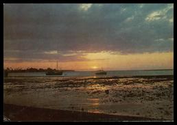 TIMOR - DILI - Pôr Do Sol Na Baía De Dili ( Ed. C.T.I. De Timor)  Carte Postale - Timor Orientale