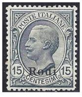 ITALY EGEO 1919 RODI 15c Nº 11 - Egeo (Rodi)