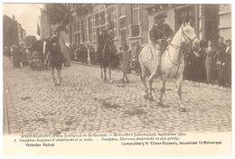 Anderlecht - Fêtes Jubilaires St Guidon / Jubelfeesten St Guido Sept. 1912 - Ed. Climan-Ruyssers - NR 8 - Animée - Anderlecht