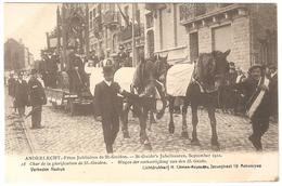 Anderlecht - Fêtes Jubilaires St Guidon / Jubelfeesten St Guido Sept. 1912 - Ed. Climan-Ruyssers - NR 18 - Animée - Anderlecht