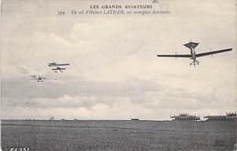 """Les Grands Aviateurs : Vqol D. Hubert Latham Sur Monoplan """"Antoinette """" 1910 - Aviateurs"""