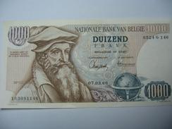 SUPERBE BILLET DE 1000 FRANCS BELGE - 1000 Francs