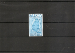 Géologie -Iles ( PA 1 De Sainte-Lucie Non Dentelé XXX -MNH)