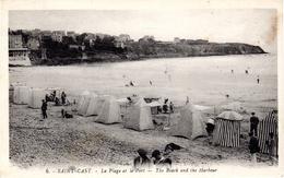SAINT-CAST  -  La Plage Et Le Port  -  The Beach And The Harbour - Saint-Cast-le-Guildo