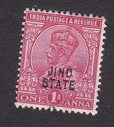 Jind, Scott #90, Mint Hinged, King George V Overprinted, Issued 1913 - Jhind