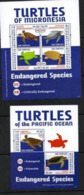 MICRONESIA,2012,TURTLES, SHEETLET+S/SHEET,MNH, - Tortues