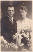 Postkaart, Fotokaart, Pas Gehuwd Koppel (pk31842) - Marriages