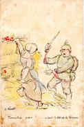 Carte Postale Au Profit Des Oeuvres De Guerre Du Département De Seine-et-Marne - Autres