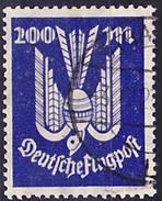 2016-0957 Deutsches Reich 1923 Mi 267 Used O Verfälscht - Deutschland