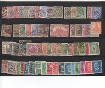 (n°1) ALLEMAGNE 61 Timbres Anciens - Collections